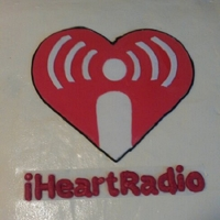 I Love Radio I heart radio cake for local radio station