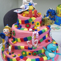 Candyland Themed Cake With The Origianl Character Of The King Gloppy Jolly And Princess Lolli This Cake Was Entered By My 12 12 Year Old Candyland themed cake with the origianl character of the King, Gloppy, Jolly and Princess Lolli. This cake was entered by my 12 1/2 year...