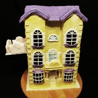 Ken's Dream House Toy Story 3 House is made from RKT, Buzz, Woody, Barbie, Ken are hand sculpted from fondant and the bear (forgot his name and my kids are in bed :) is...