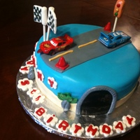 Race Car Bday Cake