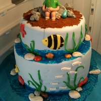 Fisherman Groom's Cake