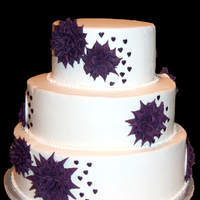 Starburst Wedding Cake