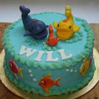 Family Of Whales For A 1 Year Old