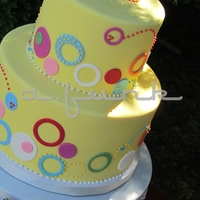 Spotted Yellow Cake