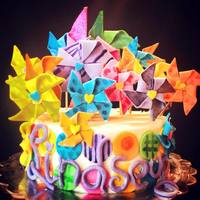 Pinwheel Birthday Cake *