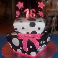 Sweet 16 This cake I had made for my niece's 16th birthday