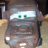 Tow Mater Made this for my great nephew's first birthday