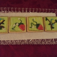 Practicing With New Mold From Martha Stewart sugar cookies with MMF