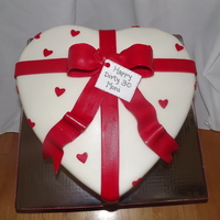 Valentine's Day Birthday Cake