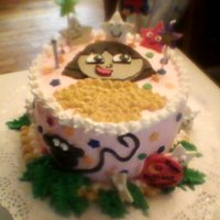 Dora Chocolate cake with vanilla buttercream