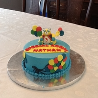 Special Agent Oso Cake My son's favourite show is Special Agent Oso, so of course I had to make this for him!