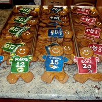 We Can All Get Along Gingerbread cookies