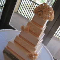 5 Tier Wedding Cake Lots of firsts for me on this one! First wedding cake, first time using sps (which I LOVED) and first square tiered cake. I'm glad it...