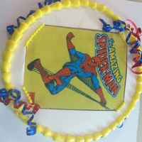 Spiderman   ricepaper image