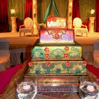 Indian Bridal Design Cake. Www.artisancakesbyjulie.com