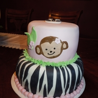 Baby Zoo Animals baby zoo animals made out of fondant. monkees, elephants& zebras cake and cupcakes...