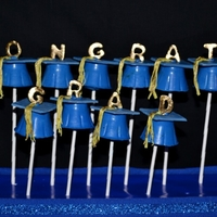 Congrats Grad! I made this carrot cake pops for my cousin. I had a great time! Thanks for looking.