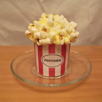 Popcorn Cupcake Popcorn is made from marshmallowsFeel free to message me with questions