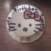 Hello Kitty All buttercream!