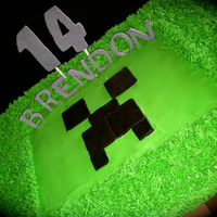Minecraft Cake AppleMark