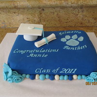 Graduation  After someone saw a pic of the last grad cake I made they asked me to order one for their daughter's graduation.....IN 2 DAYS! Why, I...