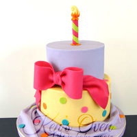 Funky Birthday Cake Top Tier Is White Chocolate Filled With Strawberry Swiss Buttercream Bottom Tier Is Chocolate Mudcake With Strawberry Funky Birthday Cake. Top tier is white chocolate filled with strawberry swiss buttercream, bottom tier is chocolate mudcake with strawberry...