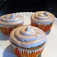 Pumpkin Spice Cupcakes   everything, including the icing, is all made from scratch! delicious!!