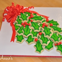 Boughs Of Holly Cookies!