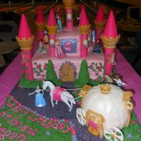 My First Princess Castle And Carriage This Was For My Grand Daughtersth Birthday I Was Pretty Happy With The Way It Turned Out My first princess castle and carriage. this was for my grand-daughter'sth birthday.. I was pretty happy with the way it turned out.