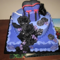Purple And Black Birthday
