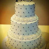 Black Amp White Wedding Cake Black & white wedding cake