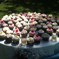 Wedding Cupcakes Wedding cupcakes. Raspberry, Lemon, Salted Caramel and Coconut.