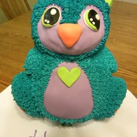Penbo Penguin Penbo penguin for my daughter's 3rd birthday. She picked the colors :)
