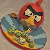 Angry Bird Cake I recently took Andrea Sullivan's Angry Birds cake class (I would recommend Andrea's classes to anyone!!) and had a blast. This...