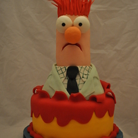 Beaker Cake My boyfriend made this cake for a Ronald McDonald house charity event. Beaker turned out so great. How lucky am I that my boyfriend can...