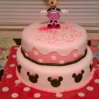 Minnie Mouse   Minnie mouse cake inspired by CC members.