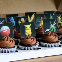 Pokemon Cupcakes Special order for a birthday party