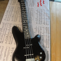 Bass Guitar Cake. This is a life size guitar cake that I did on a 103 degree day and no air conditioning (broke...great timing, huh?)...needless to say, I...