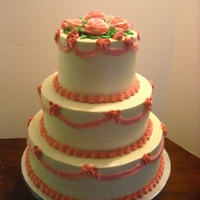 Pretty In Pink   Tres leche style cake. top vanilla with pineapple, middle chocolate, bottom vanilla with strawberry