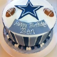 Cowboys Birthday Cake All MMF
