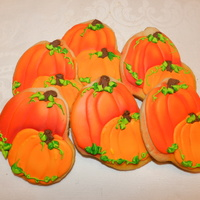 Pumpkin Hand Cut And Airbrushed   Pumpkin. Hand cut and airbrushed!