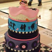 """cake, Rattle, And Roll""- 1950's Music Cake"