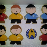 Star Trek Cookies