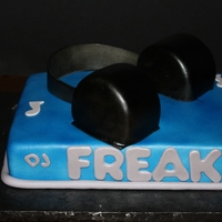 Dj Headphones This cake is for my hubby<3