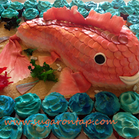 Under The Sea - Red Snapper Cake