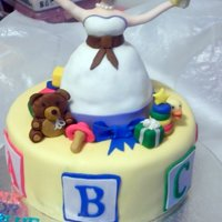 Shopping Baby Shower Cake