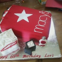 Macys Home Goods Birthday Cake Macy's/ Home Goods Birthday cake:)