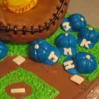 Soft Ball Team Cake