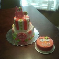 Owl First Brithday