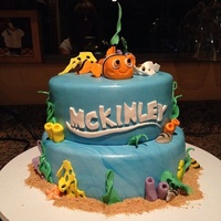 Finding Nemo Birthday Cake Finding Nemo birthday cake